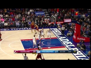 Kevin Love 25 Pts Highlights | Cleveland Cavaliers @ Philadelphia 76ers | 27.11.2016