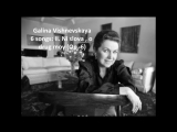 Galina Vishnevskaya Songs by Tchaikovsky