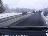 ДТП на М10 недалеко от Валдая 02.01.2017