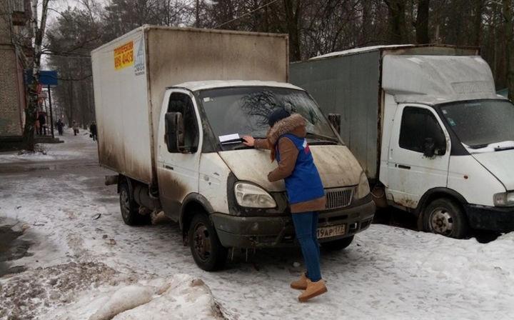 «Молодогвардейцы» совместно с Госадмтехнадзором провели проверку в Симферопольском районе