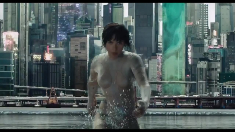 Ghost in the Shell trailer teaser