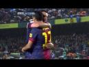 ЧИ 2012 13 36 тур Барселона Реал Вальядолид 2 1 1 тайм