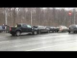 Кадры с места страшной аварии на шоссе Энтузиастов в Москве