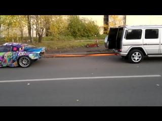 Эксперименты. Toyota Supra против Gelandewagen