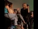 Lindsey Morgan and Eliza Taylor