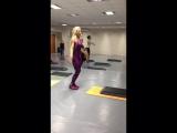 """По просьбе """" трудящихся"""" 😎, второй фрагмент с октябрьского семинара 😉. Будьте в форме! #fitgirl #motivation #sportgirl #sportmot"""