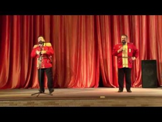 Две гитары за стеной жалобно заныли (Иван Васильев, Аполлон Григорьев). Валерий и Роман Трояны