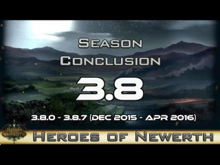 Heroes of Newerth 3.8 Season Conclusion