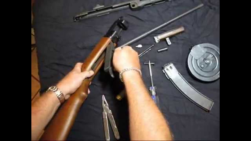 PPSh 41 By TNW Firearms- Disassembly and Reassembly