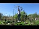 садовая АРКА своими руками / Garden arch from willow twigs