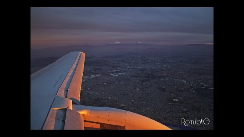 Despegue Interjet San José-CR—Aterrizaje Ciudad de México (SSJ 100 Interjet 3921-MROC-MMMX)