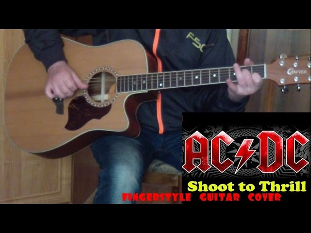 AC/DC - Shoot To Thrill(fingerstyle guitar cover)