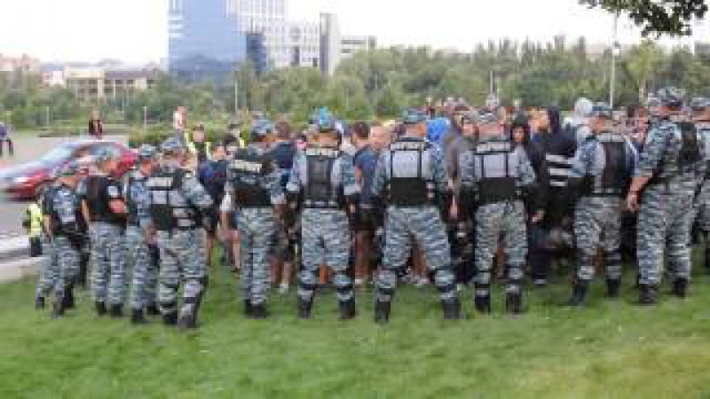 Шахтер-Динамо Киев. Хохлы и Беркут(4.08.13)