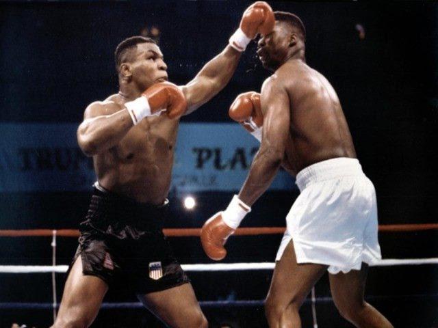 32 1987-10-16. Майк Тайсон - Тайрэлл Биггс (ком. Беленький, Высоцкий) Mike Tyson - Tyrell Biggs