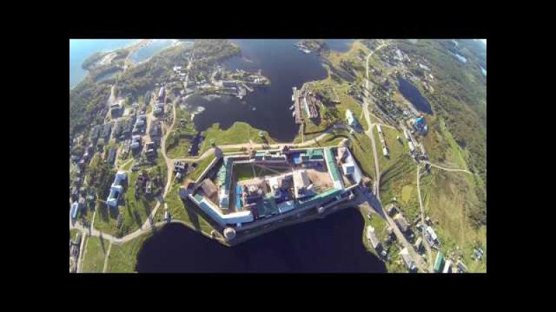 Wingsuit skybase/православные святыни.Соловецкий монастырь