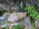 Tурция. Трехуровневый водопад Gizli Cennet (Скрытый рай)