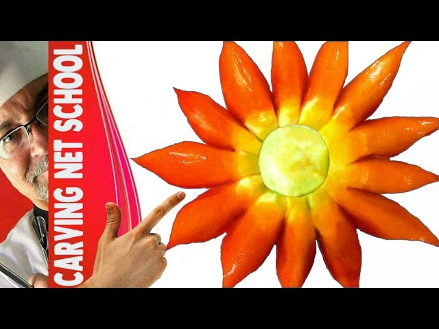 ██ Lesson 46, Carving, fruit veg carving, escultura em frutas, tallado en frutas