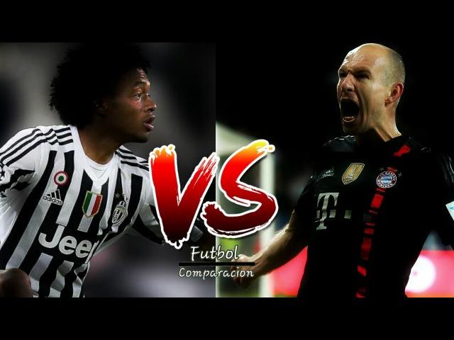 Arjen Robben Vs Juan G. Cuadrado - [Rap] 2017 ● Desequilibrio ○ Goals and Skills ᴴᴰ