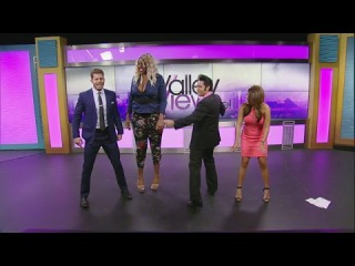 Amazon Ashley gives Valley View Live! hosts twerking tutorial