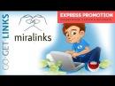 Видеокурс 3 Продвижение сайтов самостоятельно Сервисы Миралинкс и Гогетлинкс