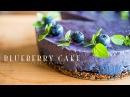 Веганский черничный торт Blueberry Cake vegan ☆ ブルーベリーケーキの作り方