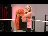 #SBMKV_Video | Sasha and Becky teach Noelle Foley how to be bad, only on WWE Network