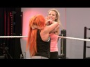 Sasha and Becky teach Noelle Foley how to be bad, only on WWE Network