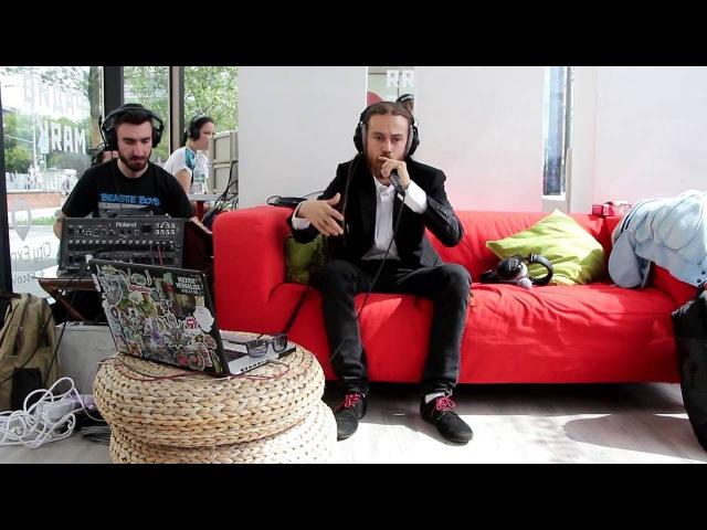 Децл - Слёзы. Радио Маяк. Летняя студия. 2016.07.22 Сергей Стиллавин и его друзья