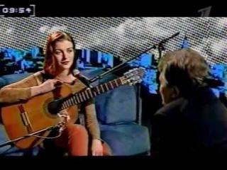 Екатерина Болдырева в программе Ночная смена с Дмитрием Дибровым 2002 г.