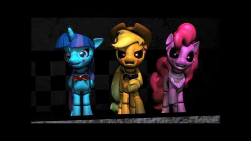 Five nights at Aj's 2 - FNAF 2 song [SAYONARA MAXWELL] [MLP SFM]