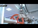 Cyber cosmonaut or rescue robot Russian android Fedor passes various tests