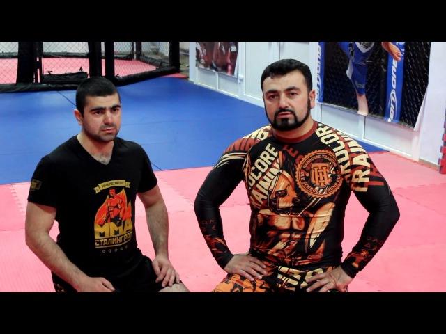 Армен Ананян – Часть 10. Выход из Full mount с переходом на удушающий