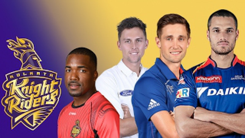 Kolkata Knight Riders FULL SQUAD after AUCTIONS 10th IPL 2017 - KKR team