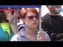 В Донецке прошел многотысячный митинг в честь праздника трудящихся