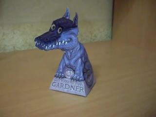 Gardner Dragon illusion  Дракон Гарднера (оптическая иллюзия и разоблачение).avi