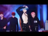 [VK][23.09.2016] Monsta X - Stuck (Wonho focus) @ Cheongju Chinese Student Festival