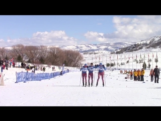 Российские лыжники одновременно финишировали первыми на чемпионате мира в США