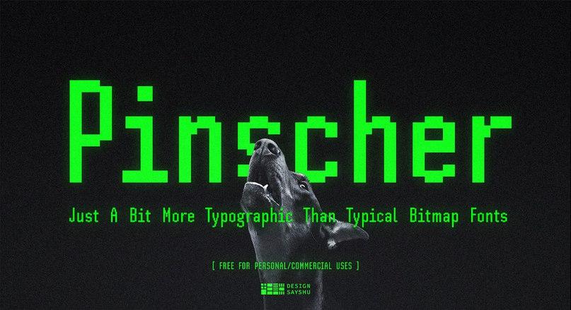 Download SH Pinscher font (typeface)