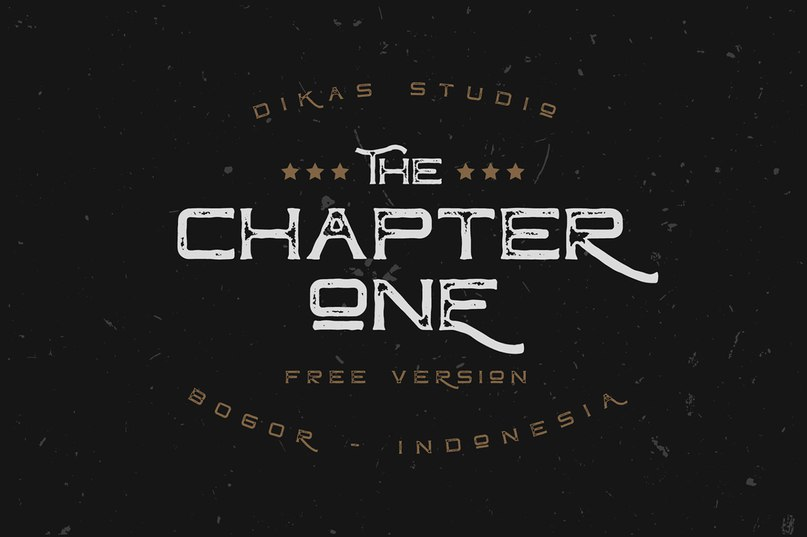 Download Chapter One Vintage font (typeface)