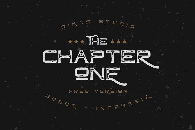 Chapter One Vintage шрифт скачать бесплатно