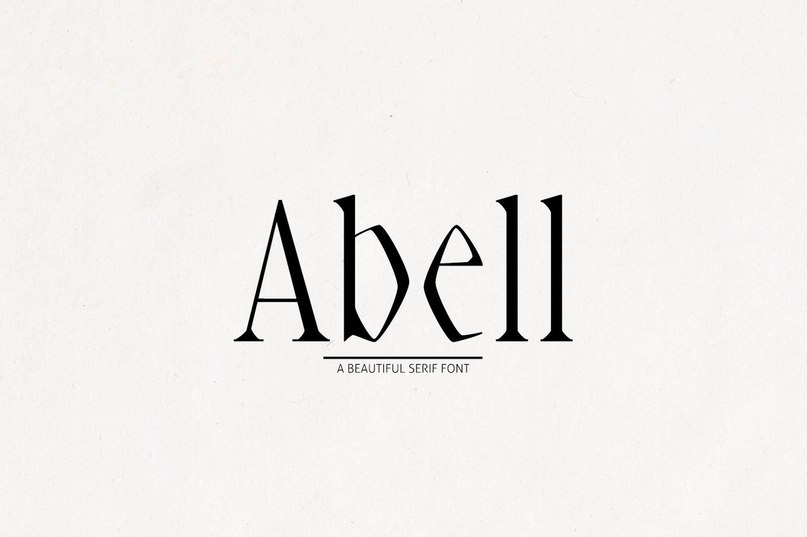 Download Abell Black font (typeface)