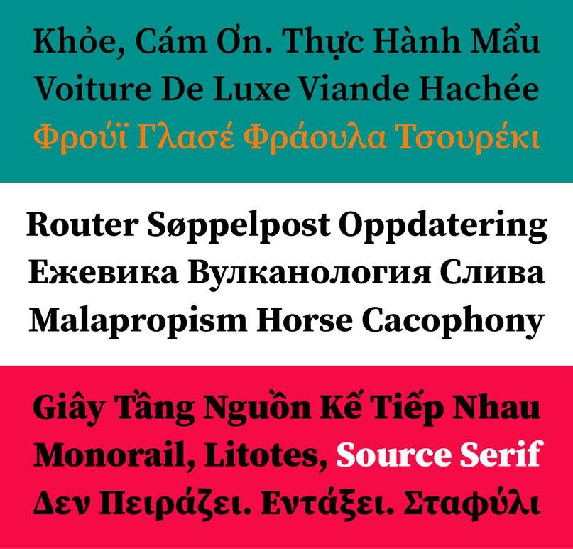 Download Sourse Serif Pro font (typeface)