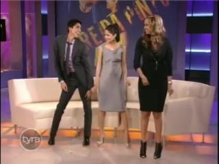 Freida Pinto and Dev Patel Teach Tyra Banks Bollywood Dance From Slumdog Million