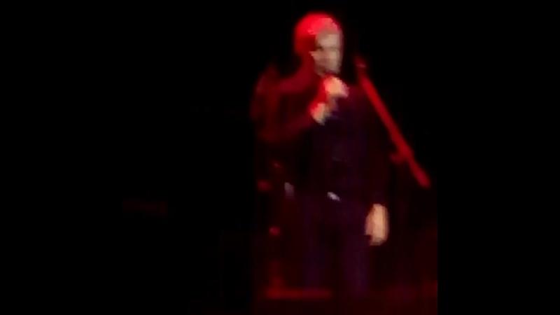 На концерте Олега Газманова
