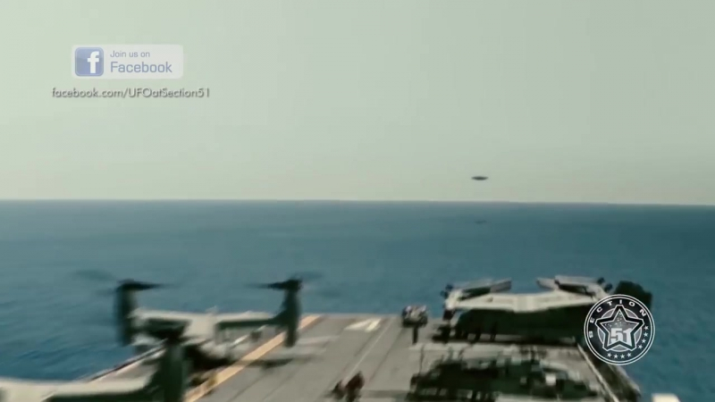 US Navy Pilots filmed disc-shaped UFO over Pacific Ocean, May 2016