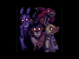 «Со стены 5 ночей с Фредди (Арт)» под музыку 5 ночей с фредди 2 - фокси и мангл. Picrolla