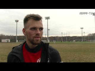 Открытая тренировка сборной Беларуси и общение с болельщиками 20.03.2017