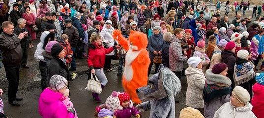 «Праздник весны» в Усть-Илимске