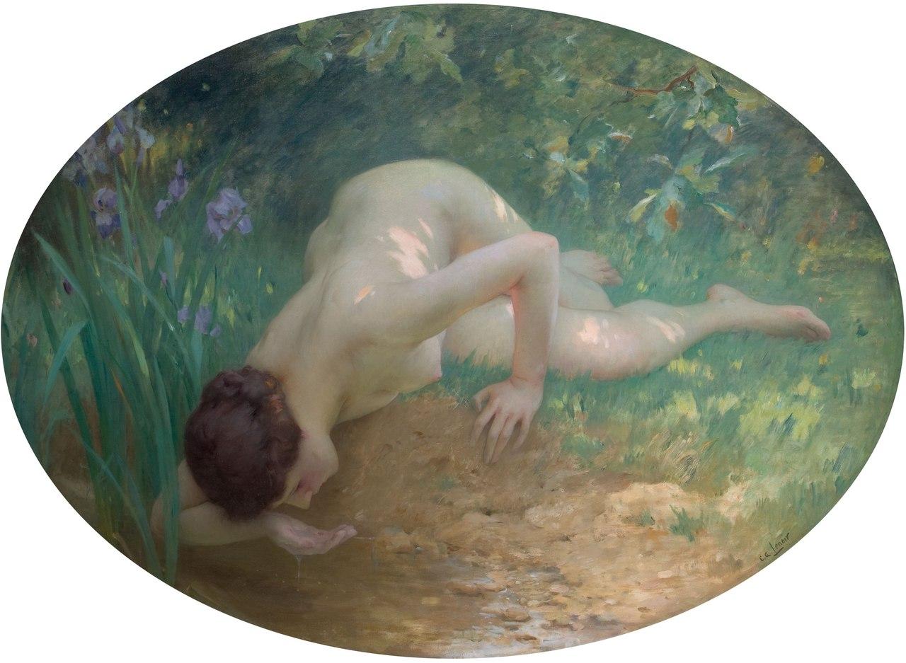 Шарль-Амабль Ленуар фр. Charles-Amable Lenoir; 1860 — 1926 La Baigneuse Купальщица