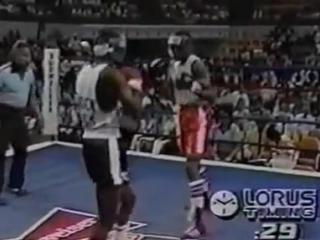 Бокс бои в любителях Рой Джонс младший против Виктора ЛевинаRoy Jones Jr vs Victor Levine